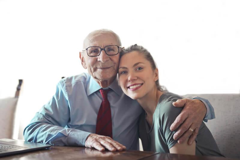 geluk ouderen - donatie bevestiging